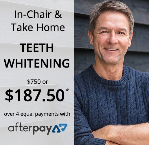 Teeth Whitening Offer with AfterPay