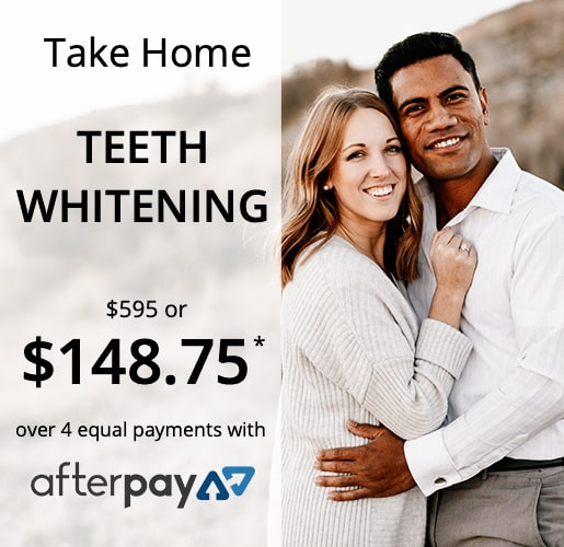 New patient exam offer for AfterPay